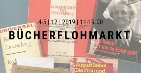 Vienna – Book market / Bücherflohmarkt und Punsch